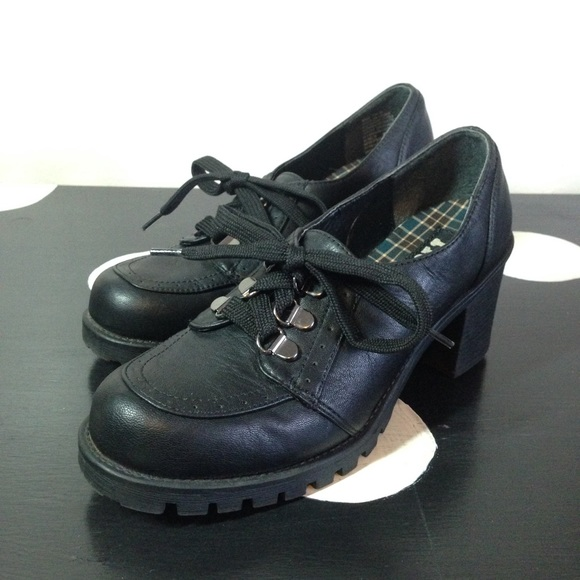 e72411ab1ce Mudd Oxford Lace Up ~ Chunky Heels ~ Black. M 56df8e5df0137d4bf202b4db.  Other Shoes ...