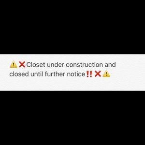 Closet closed 