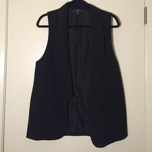 Mossimo Jackets & Blazers - Long Black Vest