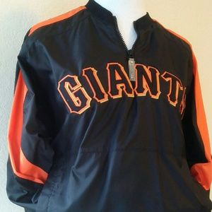 Jackets & Blazers - SF Giants wind breaker sweater