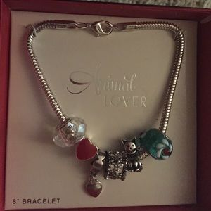 Animals Lover Charm Bracelet
