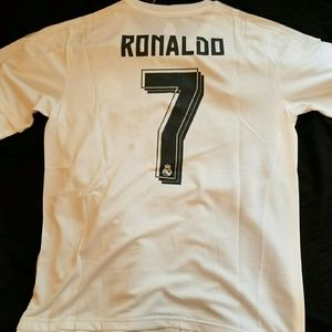 Cristiano Ronaldo Madrid Jersey