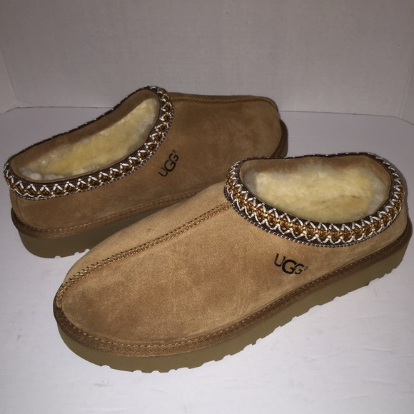 abbe9431f91 New Ugg Tasman Chestnut Womens Slippers Shoes 12 NWT