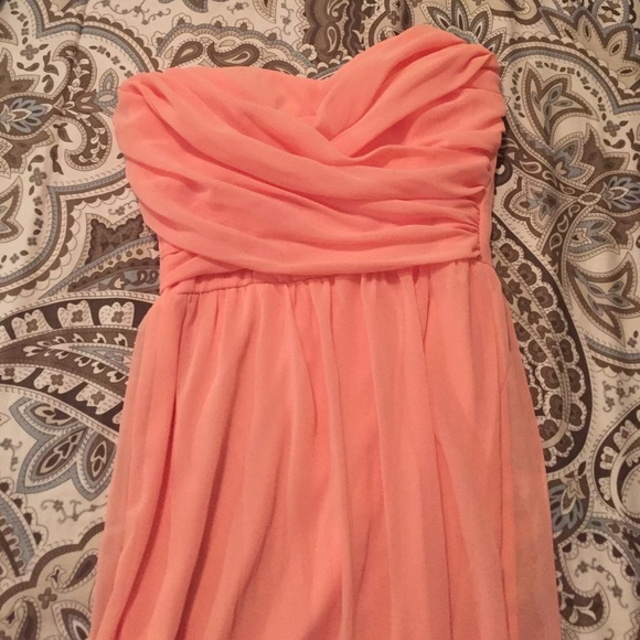 Lulus Dreamy Bridesmaids Dress