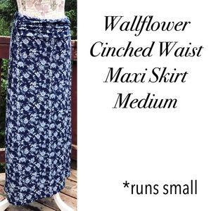 Wallflower Dresses & Skirts - 🆑 FINAL❗️Wallflower floral cinched maxi skirt M