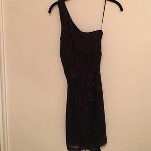 Express one shoulder dress