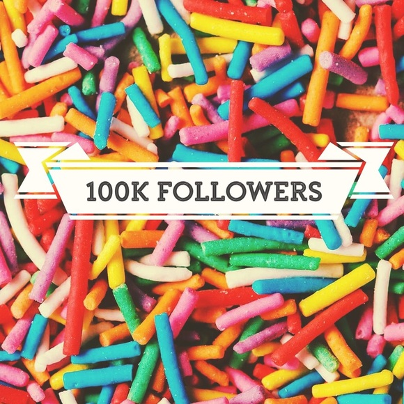 Other - Today I hit 100k followers on Poshmark.