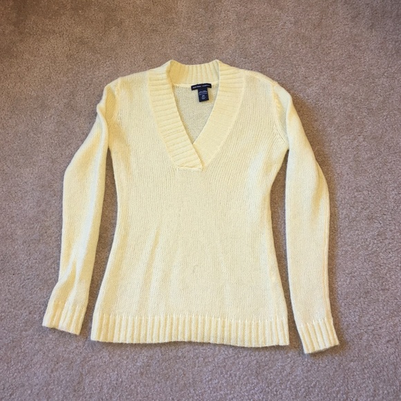 85% off New York & Company Sweaters - 🎉SALE🎉 Cozy Yellow Sweater ...