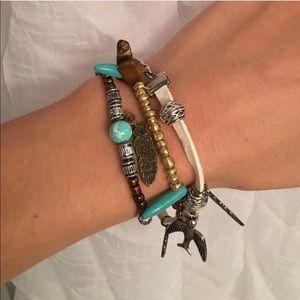 Jewelry - NWT Boho Trio Bracelets