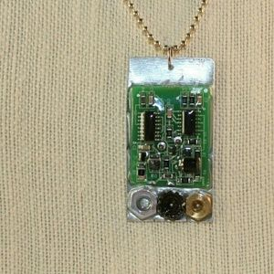 Motherboard and nuts necklace for sale