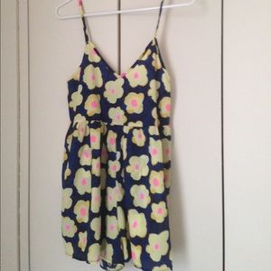 Other - Floral mini romper New