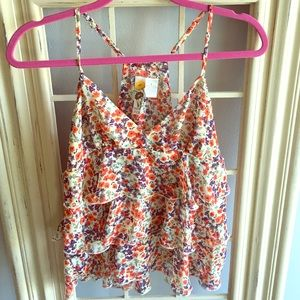 Mimi Chica Tops - Adorable flowy floral Top
