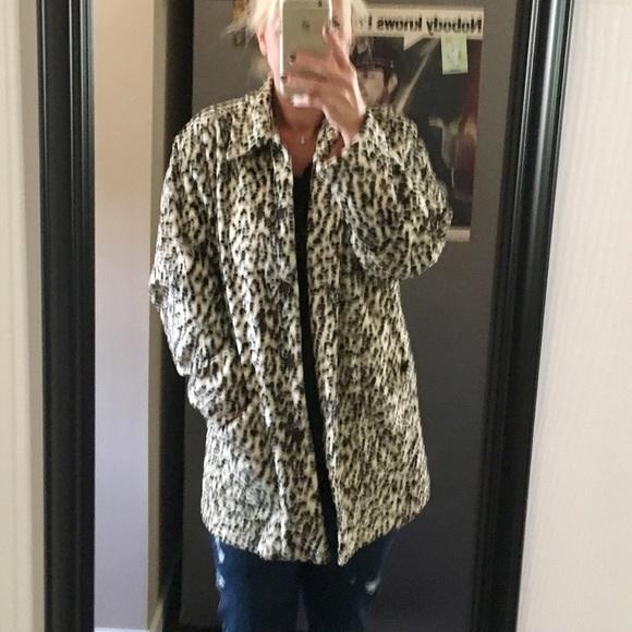 0788a5ba8cd3 Karen Kane Jackets & Blazers - Karen Kane leopard jacket