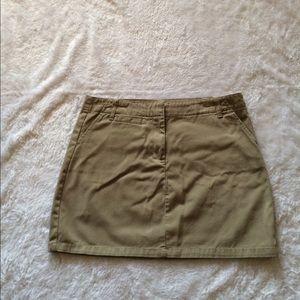 GAP Dresses & Skirts - Gap olive skirt