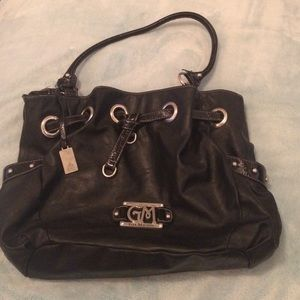 Gia milani Handbags - Gia Milani black purse with silver accents