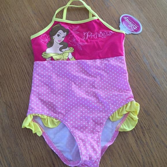 264917fcd4 Disney's Belle Bathing Suit. M_56e0719d36d5943c0d0067ae