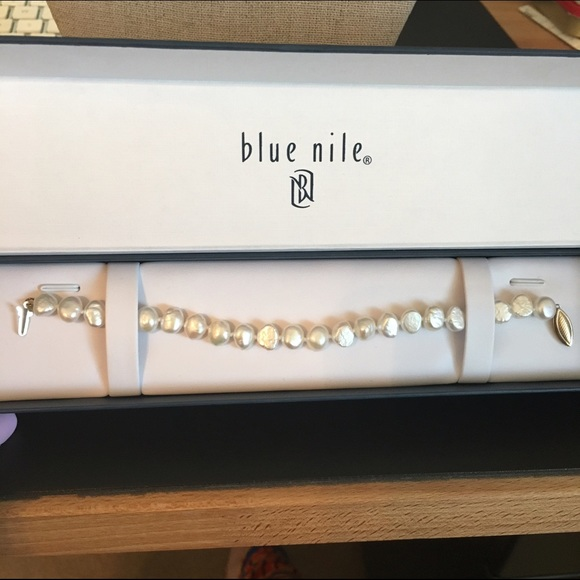 blue nile pearls