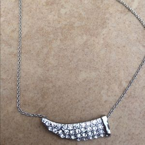 Jewelry - Silver Tone Crystal Horn Anklet Ankle Bracelet