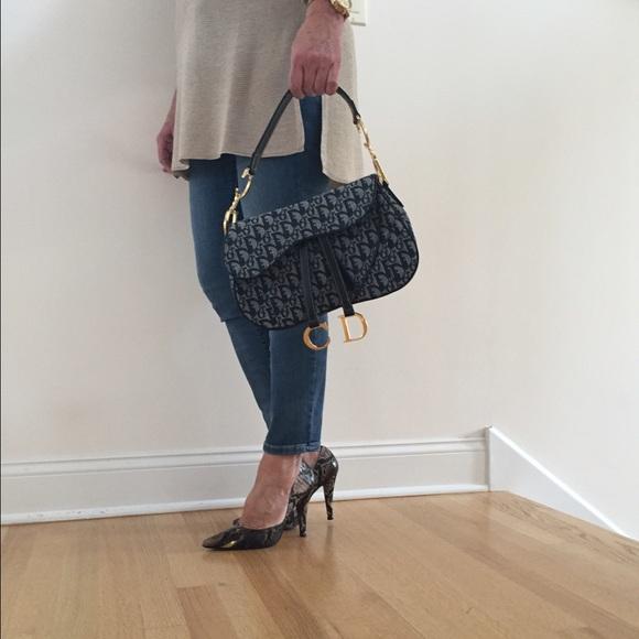 Dior Handbags - Dior Monogram Saddle Bag 1ee9282ca30bb