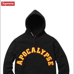 Supreme apocalypse hoodie