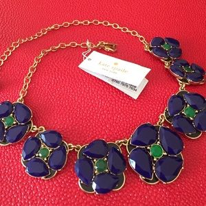 HOST PICKKate Spade azure pansy necklace
