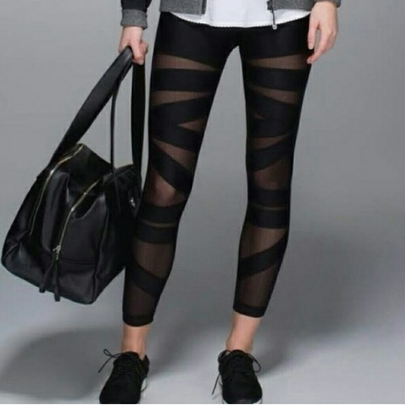 455b0a4aa3 lululemon athletica Pants - Lululemon High Times Tech Mesh Pants Sz 2