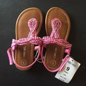 Toddler sandals size 9