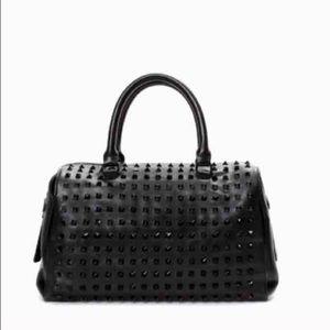 Zara studded black bag