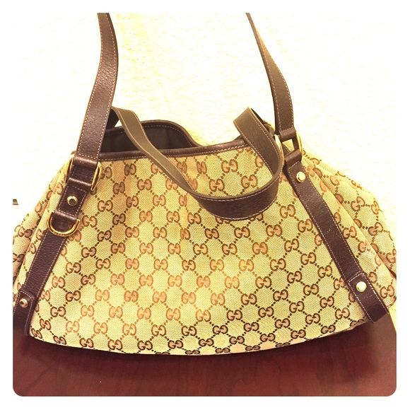 8745be164094 Gucci Bags | Authentic Abbey Gg Canvas Hobo Bag Handbag | Poshmark
