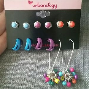 Other - 6 pairs of fashion earrings for pierced ears! 💖