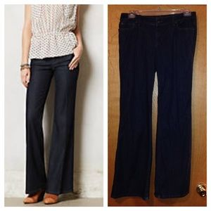 Anthropologie Level 99 Newport wide leg jeans