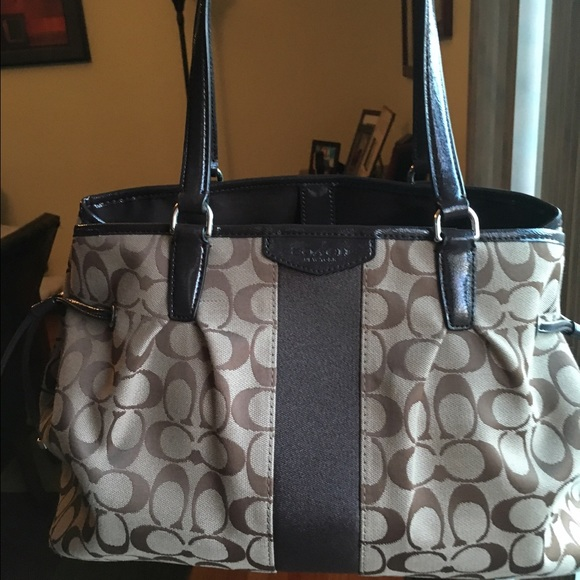 Coach Bags   Signature Carry All   Poshmark 6023819589