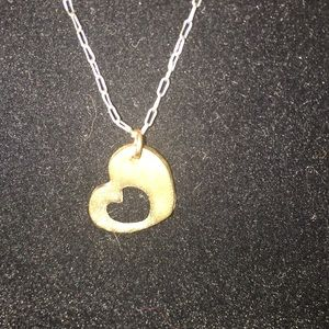 My heart in your heart necklace