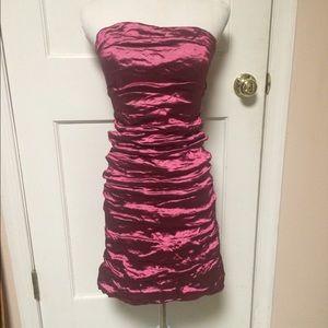 Nicole Miller Dresses & Skirts - Nicole Miller fushia strapless dress 4 new