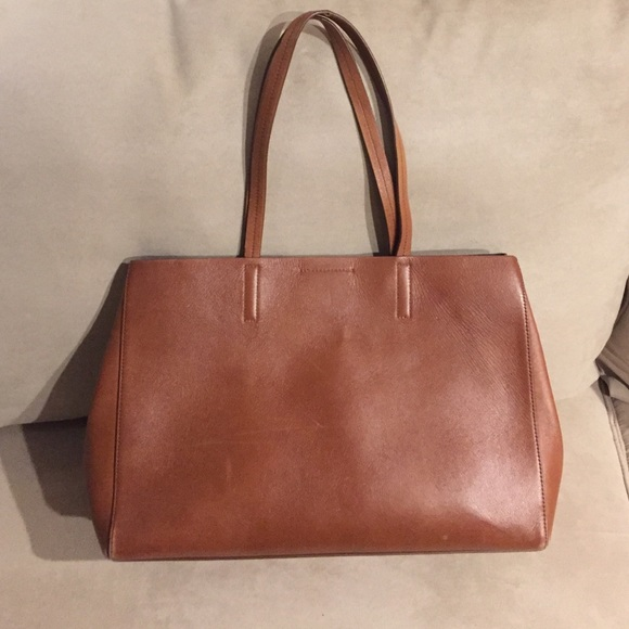 03cbc52faa40 Banana Republic Handbags - Camel Colored Banana Republic Leather Tote Bag