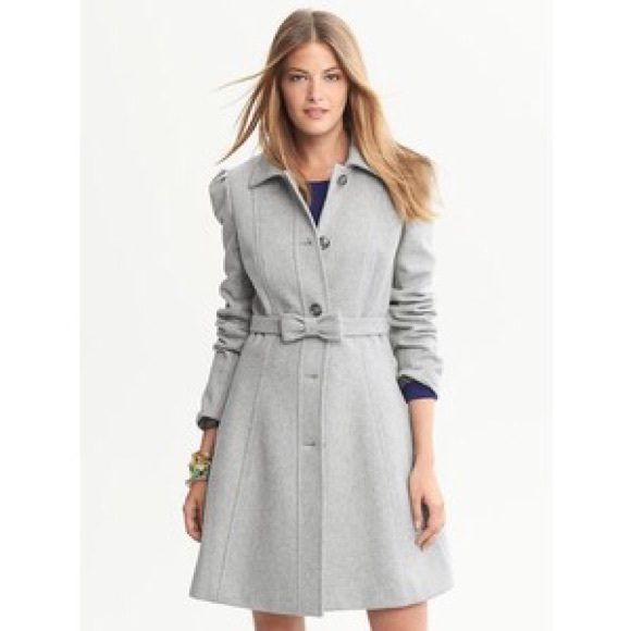 84% off Banana Republic Jackets & Blazers - Banana Republic Gray ...