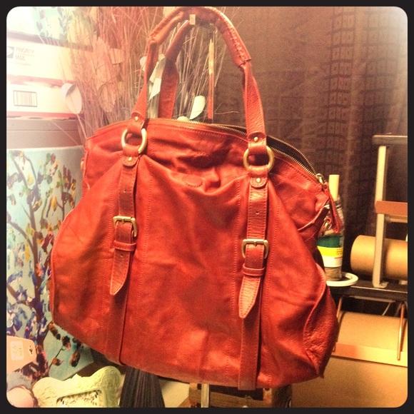 Sabina New York leather satchel purse tote. M 56e0e27c7f0a05e91604c247 7fa8b7dd5cff2