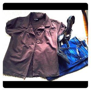 Jackets & Blazers - Short sleeve blazer retro 👗