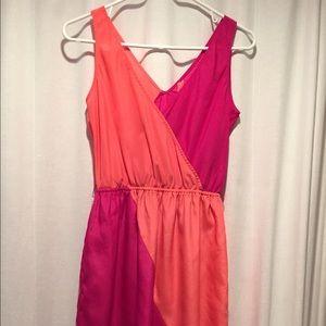 Pink & Orange dress
