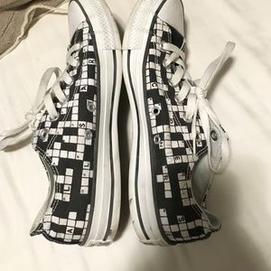 85fc84cf78a4 Converse Shoes - Rare crossword puzzle Converse all stars