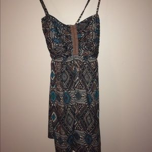 Final price!! Billabong printed dress