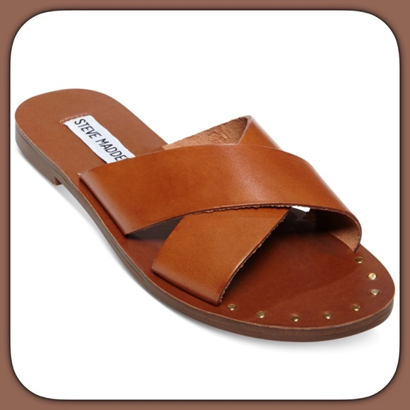 famous brand check out nice shoes ✔️Steve Madden Dryzzle Crisscross Sandals✔️ NWT