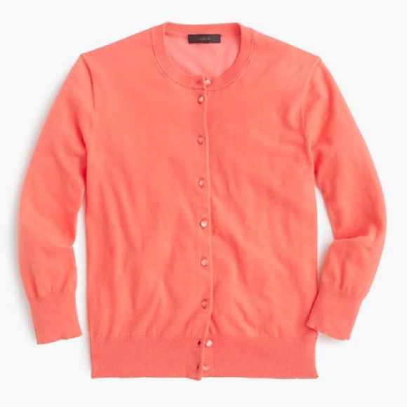 80% off J. Crew Sweaters - J Crew Cotton Jackie Cardigan Sweater ...
