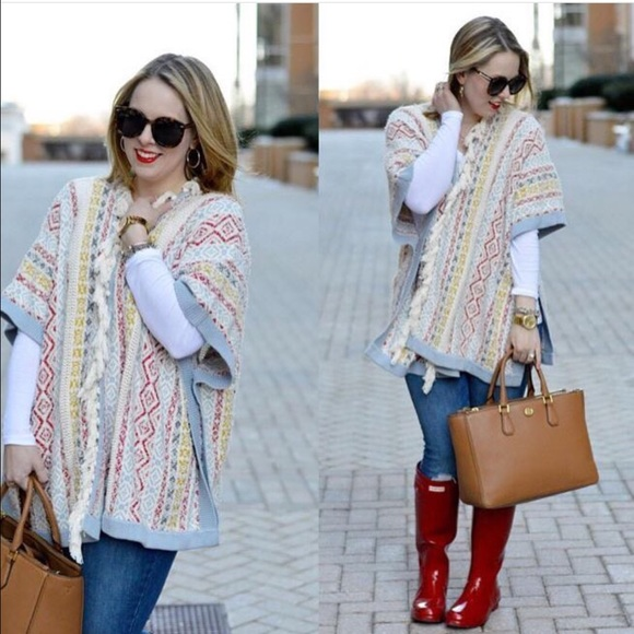 35% off CAbi Sweaters - Spring '16 Siesta Poncho from Jeana's ...