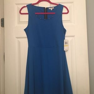 NWT Gianni Bini royal blue mini dress