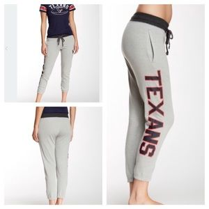 NFL Juniors Outerstuff Texans Rolled Up Sweatpant