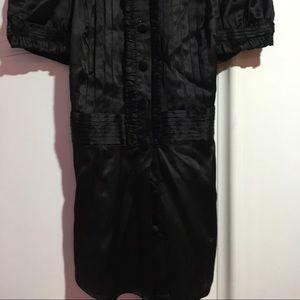 99a086f845322 bebe Tops - ❌SOLD on Vinted❌BeBe black satin blouse