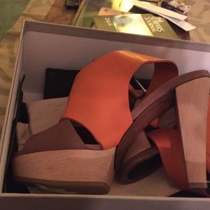 Marni gorgeous leather platform