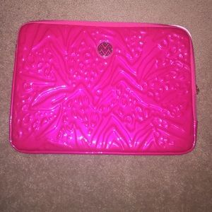 Bright Pink Laptop Case