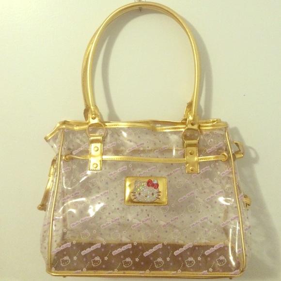 fa0714f1d91a Hello Kitty Handbags - Transparent Hello Kitty Handbag